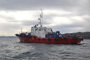 Svyatoy Nikolay crew boat