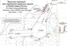 "Approach canal to the ""Novaya GavanRuchyi"" marine terminal in Ust-Luga Seaport"