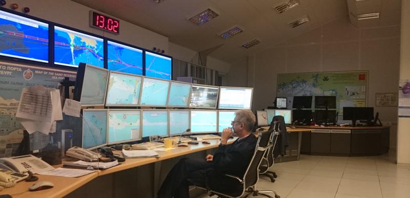 Operators of the Saint Petersburg VTS